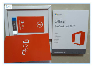 China Software de Microsoft Windows/sinal de adição de Microsoft Office 2016 pro por 1 vez da vida de Windows/PC fornecedor