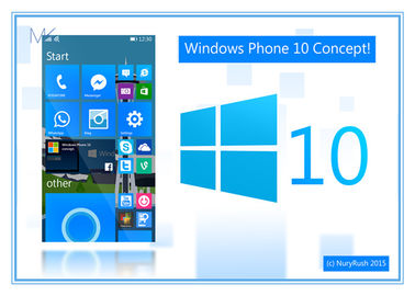China Win10 pro OEM 64bit Microsoft Windows 10 ingleses do sistema operacional 32bit fornecedor